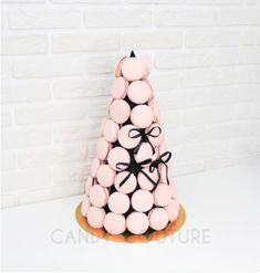 """Пирамида из макарун """"Oh, Paris"""" Макароны с шоколадными, сливочными и джемовыми начинками, ассорти нежных маршмеллоу. Oh Paris, Candy, Sweet, Toffee, Sweets"""