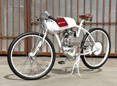 pinterest.com/fra411 #classic #bike - The D McPherson - a commissioned Derringer bike, from $4,000.
