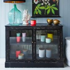 Glass Fronted Buffet Cabinet