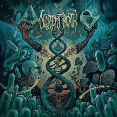 Artwork by Dan Seagrave Decrepit Birth - Axis Mundi (2017) Death Metal