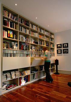Contemporain Bureau à domicile by naganjohnson architects
