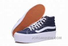http://www.jordannew.com/vans-sk8hi-platform-classic-blue-white-womens-shoes-online.html VANS SK8-HI PLATFORM CLASSIC BLUE WHITE WOMENS SHOES ONLINE Only $74.56 , Free Shipping!
