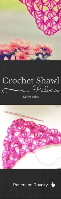 Crochet Shawl Pattern. Crtochet Pattern on Ravelry. Easy to make. Fully written and with charts.