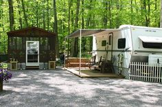 Camp Pictures - Gray Squirrel Campground