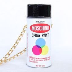 "✨2xHP✨ NWT Moschino Spray Paint Purse This Moschino leather purse is contemporary and tongue-in-cheek with its spray paint-inspired silhouette and gold-tone chain shoulder strap. ✨Multicolored leather, gold-tone chain shoulder strap, hinged top, fabric lining. ✨Didn't come with dust bag, but I will send it out with a ""Kendra Scott"" dust bag. ✨Excellent condition! ✨Would be $850 with tax. ✨All photos are mine, except for #4. Moschino Bags Crossbody Bags"