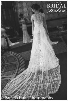 Austin Bridal Fashion Show I Fall In Love, Bridal Style, One Shoulder Wedding Dress, Fashion Beauty, Fashion Show, Bride, Black And White, Wedding Dresses, Lace