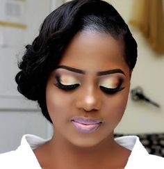 trendy makeup ideas for black women brown skin wedding hairstyles Make Up Looks, Dark Skin Makeup, Hair Makeup, Makeup Bags, Makeup Brushes, Eye Makeup, Makeup Eyebrows, Maquillage Yeux Cut Crease, Wedding Lips
