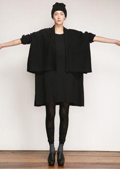 Lauren Manoogian Wide Jacket (Black)