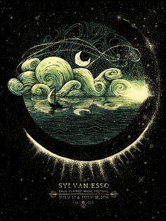 GUMUSSERVI [noun] Turkish: moonlight shining on the water. [James R. Eads - Sylvan Esso]