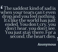 I have the biggest knot in my throat, I am screaming so much internally, this kind of pain is even worst when you can't cry. I was crying in the subway and now I am trying to contain the tears in class. This is the worst!
