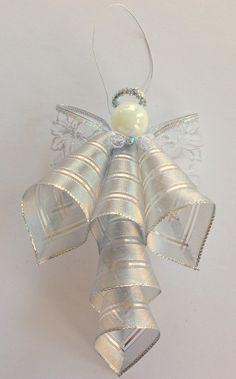 Ribbon Angel Ornament | FaveCrafts.com