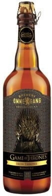 Iron Throne Blonde Ale is brewed with pilsner, honey and aroma malts by Brewery Ommegang inspired by 'Game of Thrones' Lannister family. Game Of Thrones Beer, Game Of Thrones Party, Sons Of Anarchy, Game Of Trone, Vodka, Blonde Ale, Beer Photos, Beers Of The World, Iron Throne