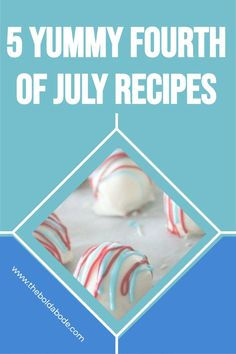 Fourth of July is a fun celebration! Add some yum to your July 4th menu this year with these 5 great ideas! Oreo Truffles Recipe, Truffle Recipe, Fourth Of July Food, July 4th, Simple Recipes, Great Recipes, Learn To Cook, Food To Make, Blue Popcorn