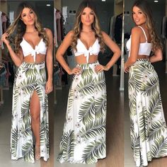 Holiday Clothes Women Crop Tops 70 Ideas For 2019 Cancun Outfits, Luau Outfits, Hawaii Outfits, Summer Outfits, Summer Dresses, Beach Outfits, Beach Dresses, Cute Dresses, Surfergirl Style