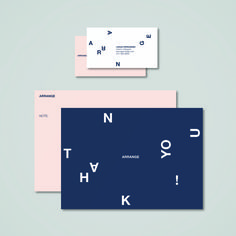 ARRANGE Stationery (Business Card and Note Card) Art/Design: Taber Calderon Stationery Business, Note Cards, Layout Design, Identity, Notes, Creative, Art, Art Background, Index Cards