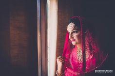 Bridal Wear - The Bride! Photos, Sikh Culture, Beige Color, Bridal Makeup, Mangtika, Antique Jewellery pictures, images, vendor credits - JW Marriott, Taj Chandigarh, Divishth Kakkar Photography, Prerna Khullar Makeup Artist, Sabyasachi Couture Pvt Ltd, WeddingPlz