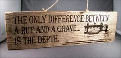 difference-barn-wood-sign || National Museum of Funeral History || want scale: own it; hanging above the front door