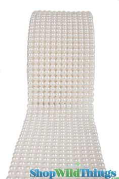 Pearl%20Beaded%20Fabric%20Wrap%204.75%22%20Wide%20x%2010%20Yards%20(30%20Feet)%20Long:%20Look%20out%20diamond%20wraps%85.here%27s%20our%20new%20pearl%20wrap!%20%20It%27s%20elegant%20and%20beautiful%20and%20has%20so%20many%20uses!%20%20It%27s%20a%20full%204.5%22%20wide%20and%2010%20yards%20l