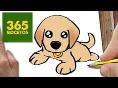 Como Dibujar Un Perro Paso A Paso Es Algo Muy Fácil Os Enseñamos A
