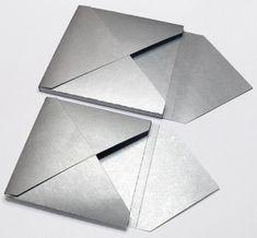 Box Envelopes: how-to & template  #scrapbook #template #diyenvelope