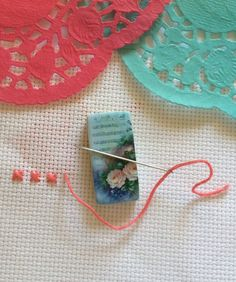 Needle minder needleminders nanny keeper magnetic flowers needle minder needleminders nanny keeper magnetic flowers cross stitch crossstitch needlepoint sewing pins embroidery crosstitch needle points negle Images