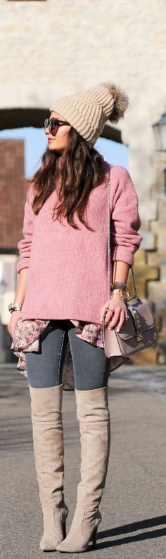 Winter outfit meets spring look / Fashion By Fashion Hippie Loves