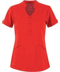 Shop for Ladies Solid Fashion Scrub Tops at Uniform Advantage and update your look! Find all kinds of styles, including mock wrap scrubs, empire waist scrubs, and more. Scrubs Pattern, Medical Scrubs, Nursing Scrubs, Uniform Advantage, Scrubs Uniform, Medical Uniforms, Fashion Vocabulary, Collar Top, Scrub Tops