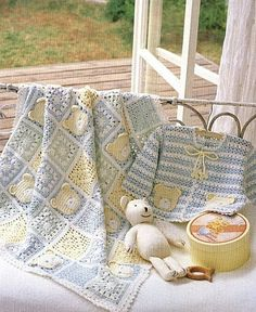 If I have a boy I really want the cute teddy bear crochet blanket for baby