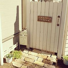 Diy Art, Garden Landscaping, Paths, Arch, Backyard, Cottage, Exterior, Outdoor Structures, Landscape