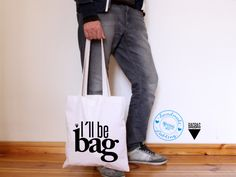 i´ll be bag Jutebeutel // tote bag by claus-peter-2 via dawanda.com