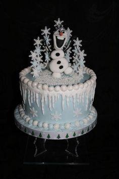 Last Olaf of 2014 - Cake by Judy