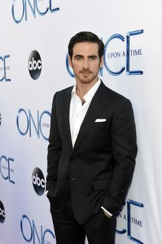 Colin O'Donoghue at the #OnceUponATime premiere