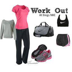 Work Out, created by chaumont on Polyvore
