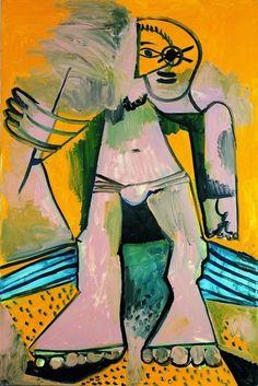 Pablo Picasso - Baigneur, 1971