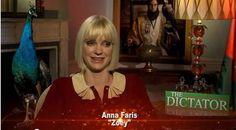 Video: Anna Faris Talks THE DICTATOR With AMC