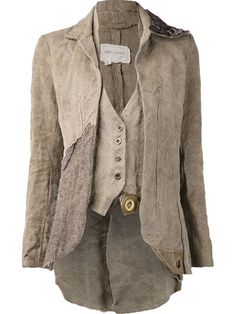 Shop Greg Lauren tweed duffle camelot jacket in The Parliament from the world's best independent boutiques at farfetch.com. Over 1000 designers from 300 boutiques in one website.