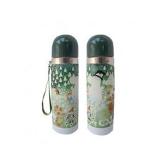 Lovely Moomin thermos flask features the original artwork by Tove Jansson. Bottle is made of stainless steel and it is designed to keep cool drinks cool and hot