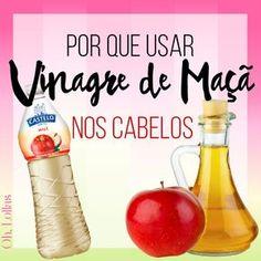 Benefícios e propriedades do vinagre de maçã. Como usar vinagre de maçã no cabelo? Receita caseira de tônico capilar.