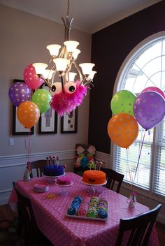 Cute Monsters Birthday Party Ideas