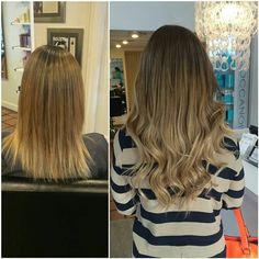 Di Biase Hair Extensions Before And After By Eric Vaughn What A Difference Can Make