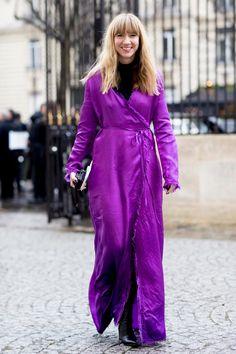 Fantastisch Bildergebnis Für Ultra Violet Farbe Des Jahres, Herbstlicher Straßenstil,  Street Style Trends, Herbst