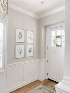 Our Interior Paint Colors - A Thoughtful Place Off White Paint Colors, Hallway Paint Colors, Paint Colors For Home, House Colors, Wall Painting Colors, Crown Paint Colours, Cottage Paint Colors, Coastal Paint Colors, Interior Paint Colors For Living Room