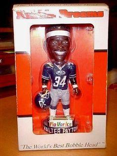 SOLD - Walter Payton Chicago Bears Chicago Rush SGA Bobblehead  - FREE SHIPPING