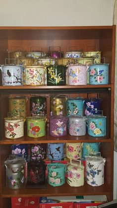 Hand painted tiffins