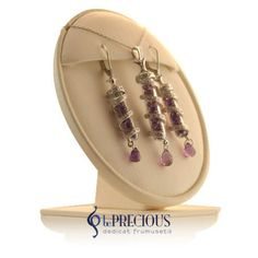 Set cu pietre pretioase veritabile, disponibil doar in magazinul Be Precious. Drop Earrings, Jewellery, Fashion, Diamond, Moda, Jewels, Jewelry Shop, Jewelry, Drop Earring