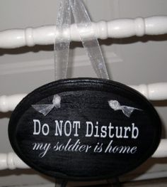 I might make this for my daughter when her husband comes back from deployment next year.