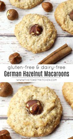 Nut Recipes, Sweet Recipes, Baking Recipes, Cookie Recipes, Dessert Recipes, Kitchen Recipes, Desserts, Cookie Flavors, Paleo Baking