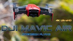DJI Mavic Air Precision Flying Near Waterfall