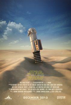 Star Wars: The Force Awakens Fan Poster by Joe Nicklo