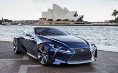 Stunning Lexus LF-LC Blue Concept